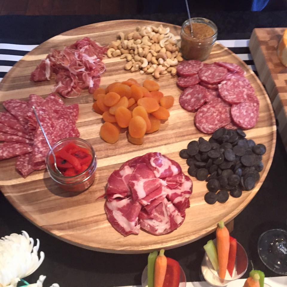 Chacuterie tray.